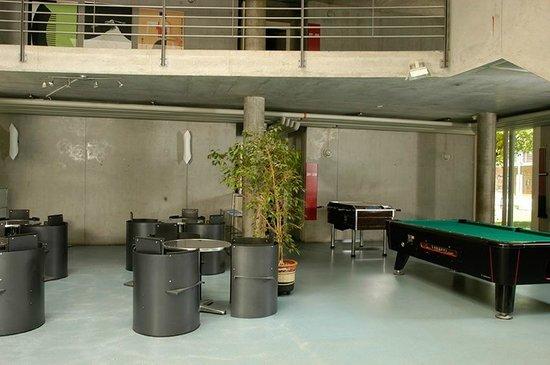 Lausanne Youth Hostel: Gemeinschaftsraum