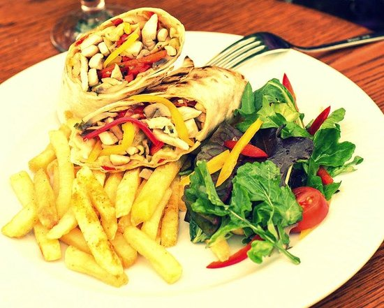 Efes Sports Pub : wraps