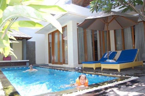 Villa Travis: Pool Area