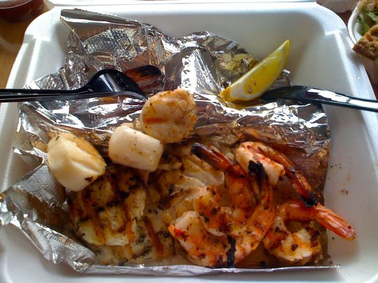 Ocean's Seafoods: Grilled seafood combo