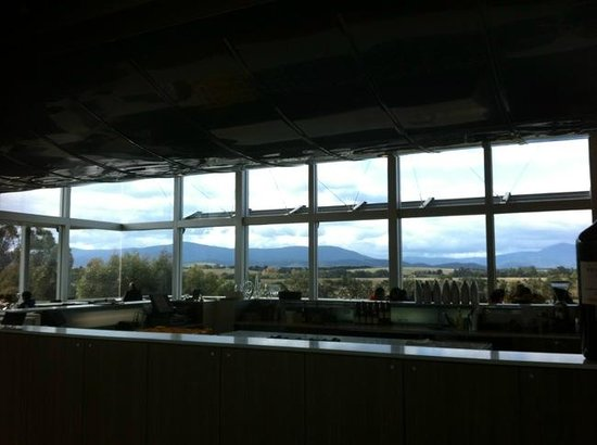 Wine Bar Restaurant @ Yering Station: the view