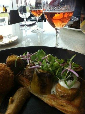 Wine Bar Restaurant @ Yering Station : the food
