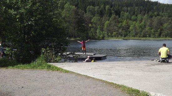Sognsvann Lake: meri