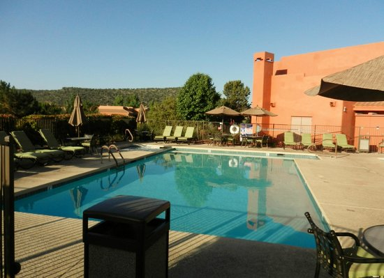 One Of The Hotel Pools Picture Of Sedona Summit Resort