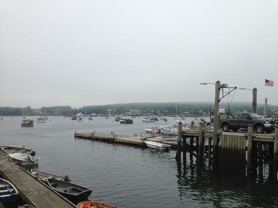 Beal's Lobster Pier: view from beal's