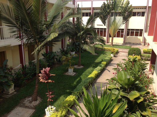 King's Conference Centre : Beautiful courtyard