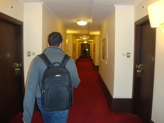 FH Grand Hotel Palatino: corredor p os quartos. acesso por elevador