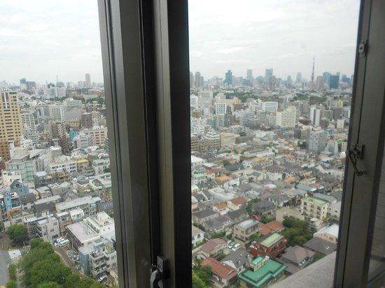 The Westin Tokyo: vista dalla camera