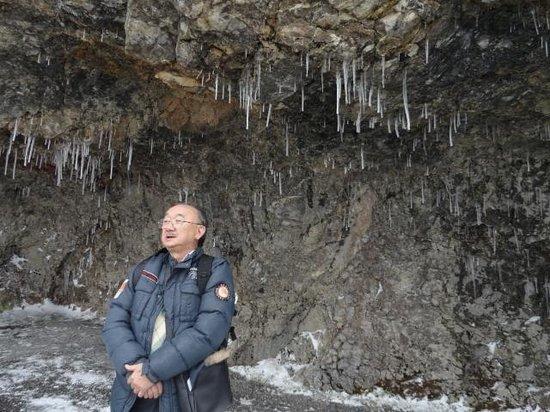 Novotel Zurich City-West: Gotas congeladas no teto da caverna