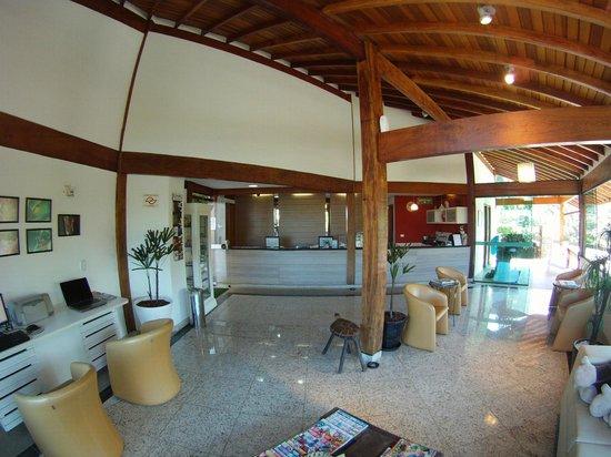 Hotel Coquille - Ubatuba: Front Desk