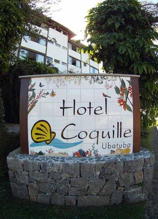 Hotel Coquille - Ubatuba: Hotel Entrance