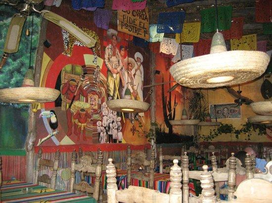 Cielito Lindo: Le décor