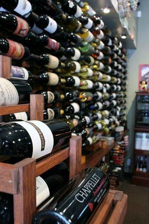The Cellar Door : We stock over 250 labels of wine from all over the world
