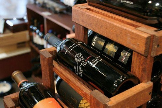 The Cellar Door : Good selection of high end wines as well.