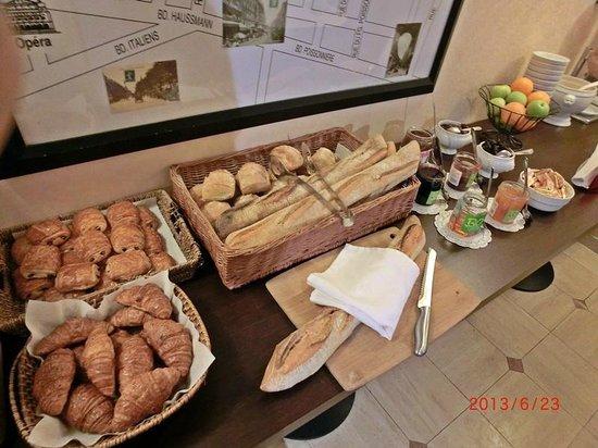 Hotel Pax Opera: 朝食