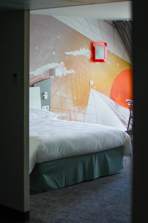 Ibis Styles Poitiers Centre : Chambre