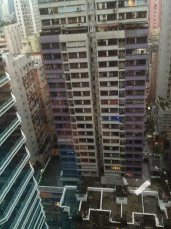OZO Wesley Hong Kong: View from room