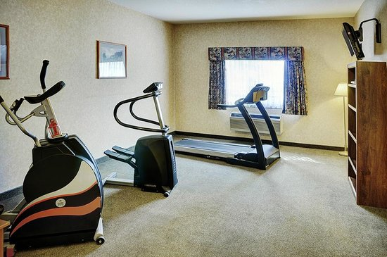 Lakeview Inn & Suites Brooks : Exercise room