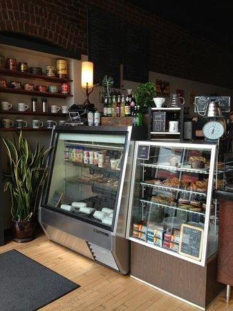 Spyhouse Coffee Shop: inside