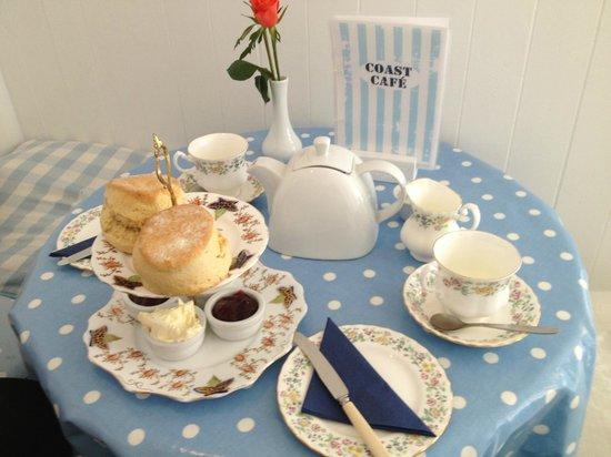 A Coast Cafe Cream Tea