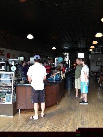 Spyhouse Coffee Shop: counter