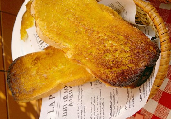 La Pastaria Dragoman: Хлеб