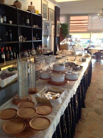 David Hotel: buffet
