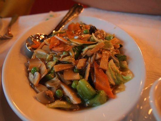 Panda Kineski Restoran : Mixed vegetables