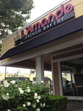 L'Amande Bakery: nice french type of bakery