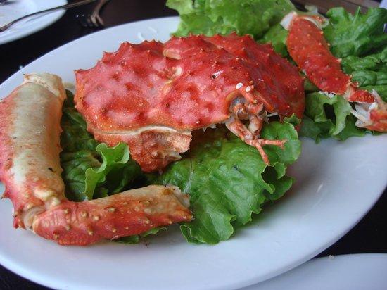 Restaurant Casavaldés: Centolla!