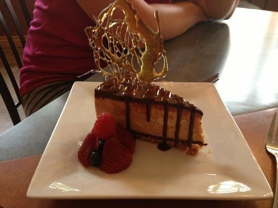 Annex Room Restaurant & Inn: Chocolate peanut butter cheesecake. So tasty!