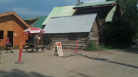 Talkeetna Roadhouse: This is 'The Little Cabin in the 'Back. It literally is a little cabin in the back of the restau