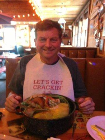 Joe's Crab Shack: Seam pot