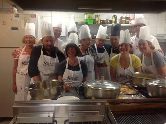 Sarnic Hotel Turkish Cooking Class: Add a caption