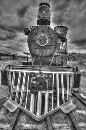 South Park City Museum: Original on display CVA 837 Lincoln Steamboat Springs, CO