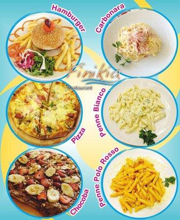 Finikia: Pizza and Pasta