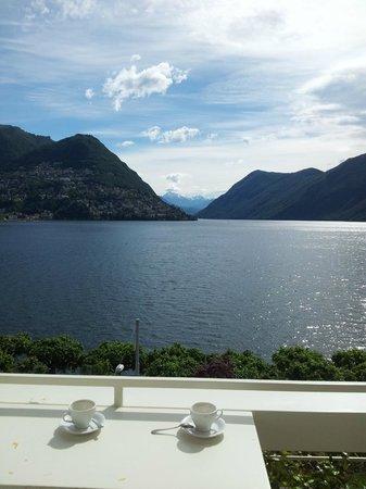 BEST WESTERN Hotel Bellevue Au Lac: the veiw