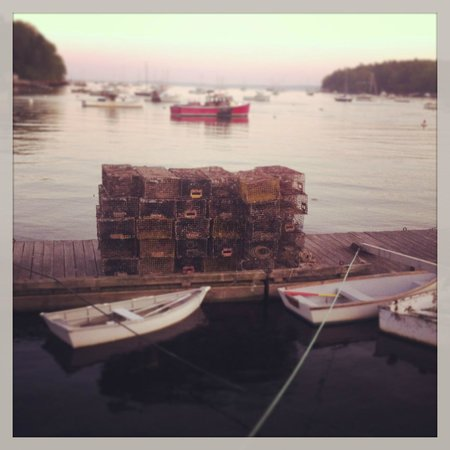 Shepherd's Pie: Lobster traps at Rockport Harbor
