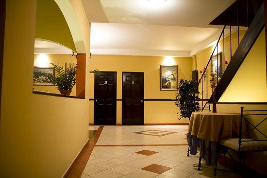 Hotel Merliot : Area para desayunos