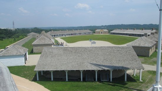 Fort Snelling State Park: View from top