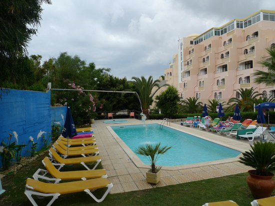 Monica Isabel Beach Club: 2eme piscine