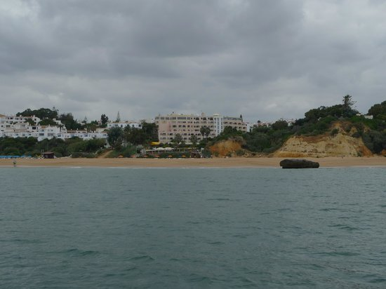 Monica Isabel Beach Club: vue club depuis le bateau