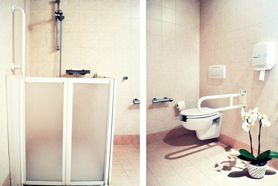 Il Tinello: bagno per diversamente abili