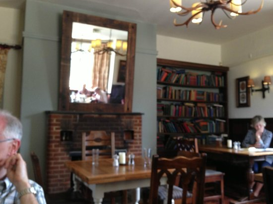 The Lansdowne Arms: The dining area