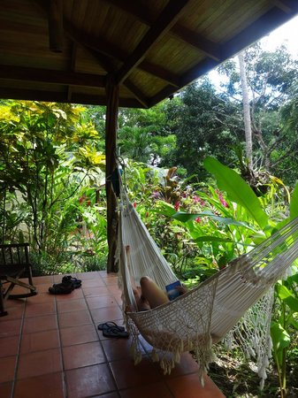 Star Mountain Jungle Lodge: Lazy morning in the hammock