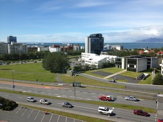 Hilton Reykjavik Nordica: vista della città dal l'albergo