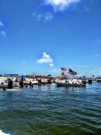 Charleston Life Charters: Morris Island on the 4th