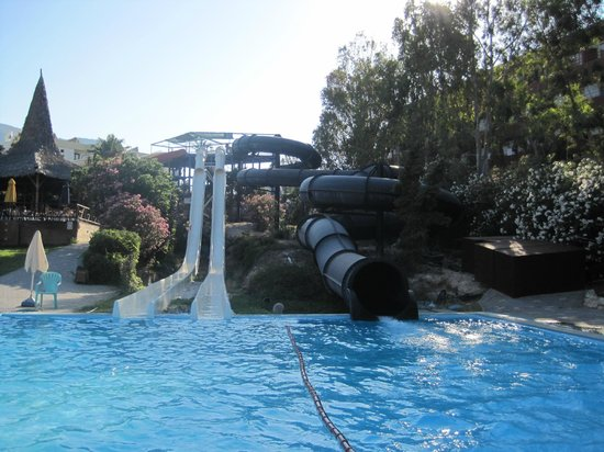 Hersonissos, Greece: Some of the Water Slides