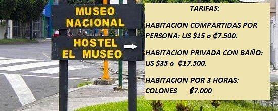 Hostel el Museo: Tarifas
