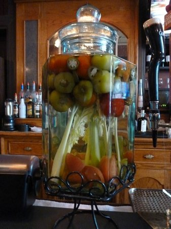 Broadway Grille: Our Famous Pepper-Infused Vodka